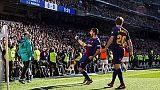 "Stampa celebra Barca, ""Messi Christmas"""