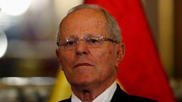 Peru opposition party demands immediate resignation of President Kuczynski