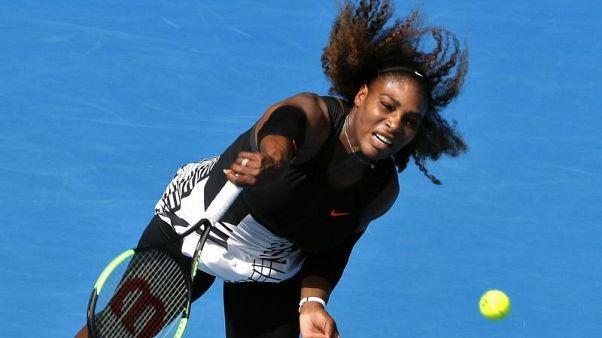 سيرينا تعود لمنافسات التنس في بطولة أبوظبي