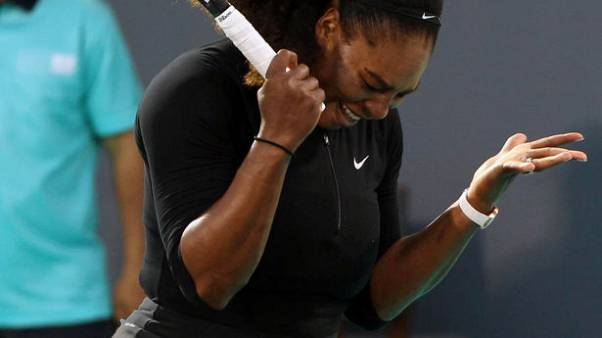 Serena says good to be back, despite loss to Ostapenko in Abu Dhabi