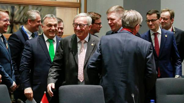 EU leaders lock horns over hosting refugees