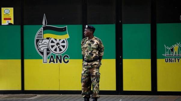 South Africa's governing ANC to announce party leader on Sunday