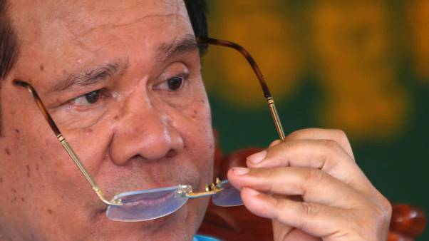 Cambodia's Hun Sen challenges EU and U.S. to freeze assets
