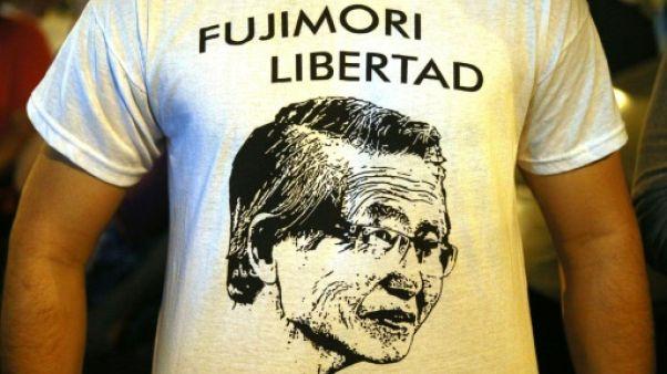 """Grâce """"humanitaire"""" pour l'ancien homme fort du Pérou Alberto Fujimori"""