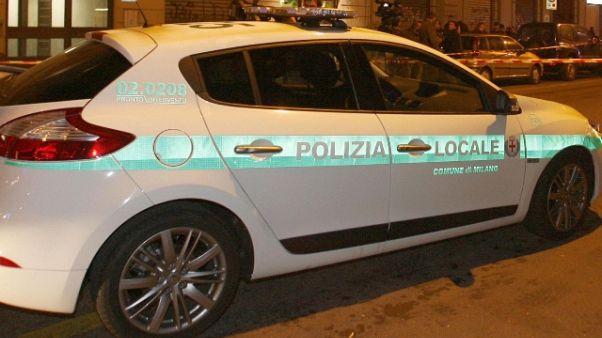 Scontro fra tram a Milano, 4 feriti