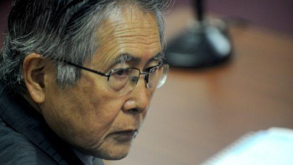 Pérou: l'ex-président Alberto Fujimori toujours en soins intensifs