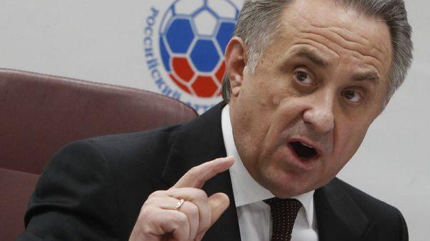 موتكو يتنحى عن رئاسة الاتحاد الروسي لكرة القدم