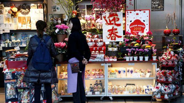 Japan's households open their wallets, BOJ seen keeping stimulus