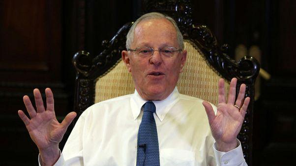 Peru lawmakers file motion to impeach president Kuczynski