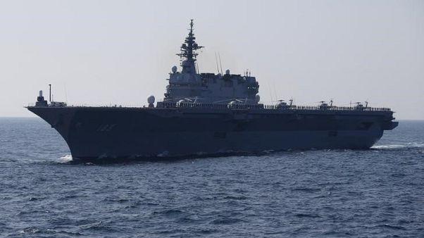مصادر: اليابان تبحث تجهيز حاملة طائرات هليكوبتر حتى تناسب الطائرات الشبح