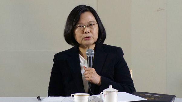 رئيسة تايوان لا تستبعد احتمال هجوم من الصين