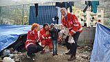 Croce Rossa, cibo a 'abitanti del Roja'