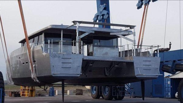 Catamarano senza barriere e'carbon free'