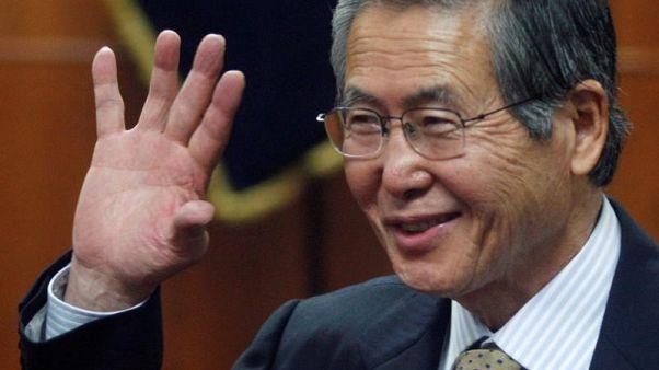 فوجيموري يشكر رئيس بيرو على العفو ويطلب من المواطنين الصفح