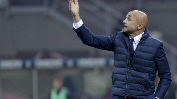 Inter: Spalletti, mi aspetto un segnale