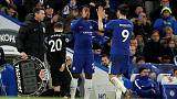 Morata and Alonso earn Chelsea 2-0 win against Brighton
