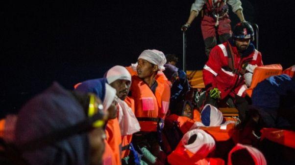 Immigration: 255 personnes secourues en Méditerranée
