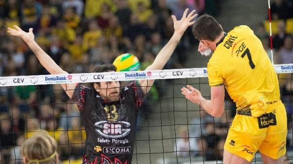 Pallavolo: Superlega, Perugia in testa