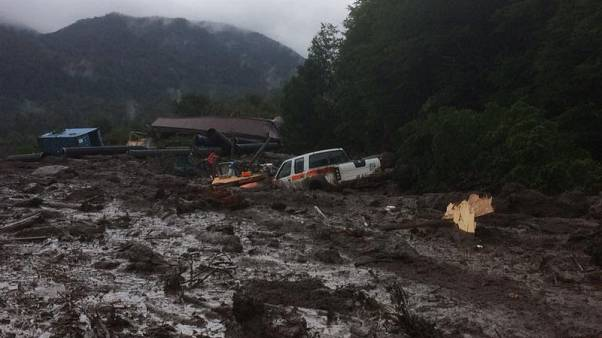 Mudslide in southern Chile kills three; 15 others missing