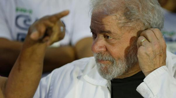 Brazil's Workers Party formalise support for ex-president Lula