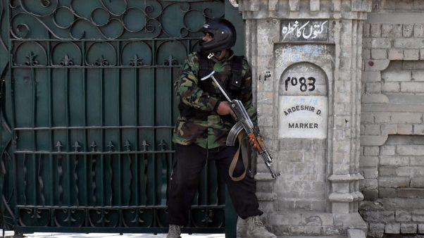Gunmen kill five in attack on church in Pakistan's Quetta