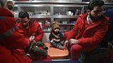 Evacuations médicales limitées dans une zone assiégée de Syrie