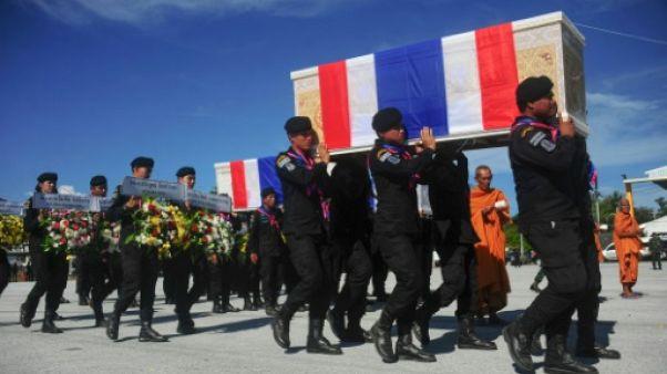 Le conflit séparatiste en Thaïlande a fait 235 morts en 2017, un plus bas historique