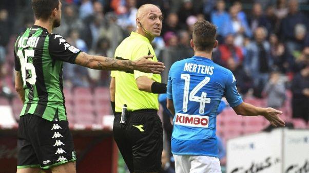 Serie A: Pairetto per Sampdoria-Spal