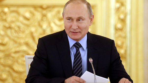 بوتين يسجل رسميا ترشحه لخوض انتخابات الرئاسة في روسيا