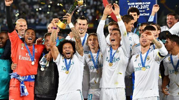 Uefa, Real miglior squadra del 2017