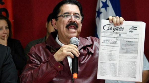 Honduras: l'opposition veut faire annuler la réélection d'Hernandez