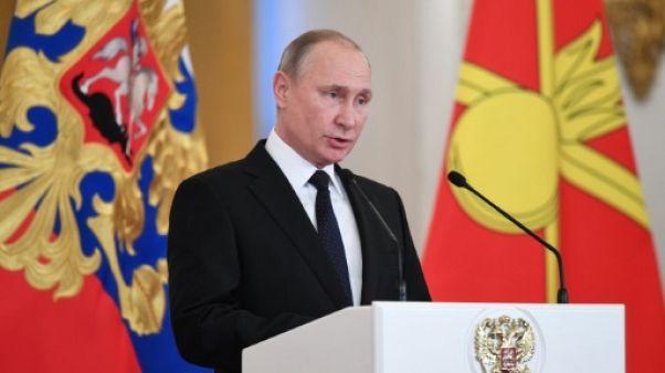 """Russie: Poutine ordonne de """"liquider"""" les auteurs d'attentat menaçant la police"""