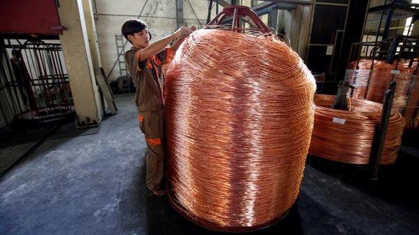 واردات الصين تقود أسعار النحاس لأعلى مستوى في 4 أعوام