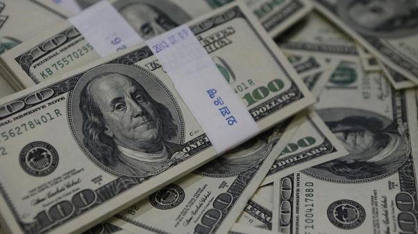 مؤشر الدولار يبلغ أدنى مستوى في ثلاثة أسابيع ونصف