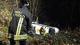 Ambulanza in scarpata, morto il paziente