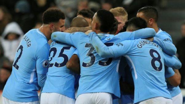 Angleterre: Manchester City écarte Newcastle et chasse le record