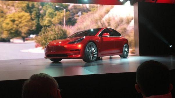 Tesla's Model 3 deliveries point to slower ramp up - brokerage