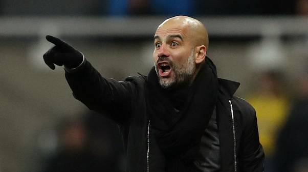 Guardiola sees old Barca charges as Euro favourites still
