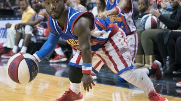 Jahmani Swanson, 135 cm, basketteur au service des Harlem Globetrotters
