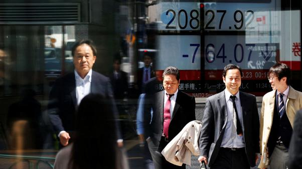 نيكي الياباني يغلق منخفضا وسط مخاوف بشأن سوريا