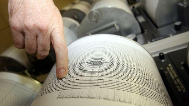 Sequenza sismica nella notte, 10 scosse
