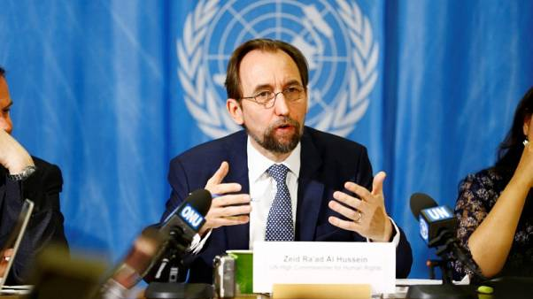 U.N.'s Zeid toughens warning of 'genocide' in Myanmar