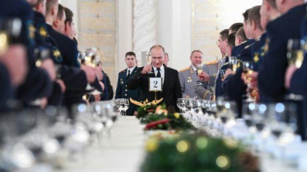 """Syrie: Poutine souligne le rôle """"crucial"""" de la Russie dans la défaite des jihadistes"""