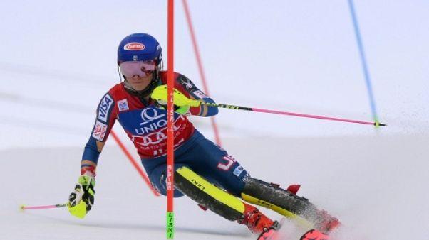 Ski: Shiffrin assomme la concurrence dès la 1re manche du slalom de Lienz