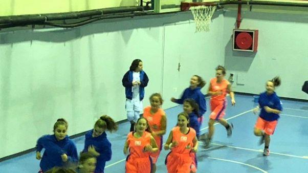 Squadra basket derubata scende in campo