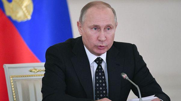 بوتين: انفجار سان بطرسبرج كان عملا إرهابيا