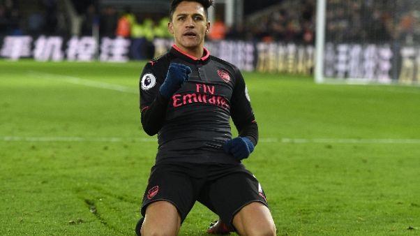 Premier: Crystal Palace-Arsenal 2-3