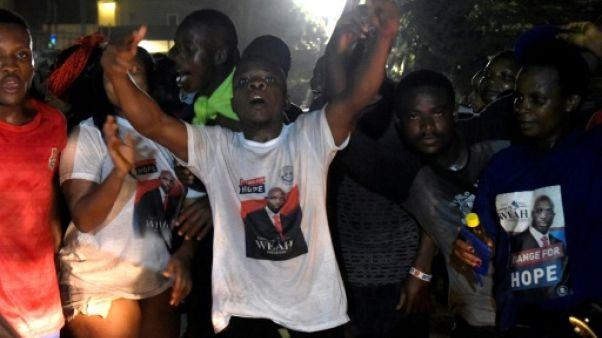 """Pour les partisans du """"président Weah"""", la fête ne fait que commencer"""