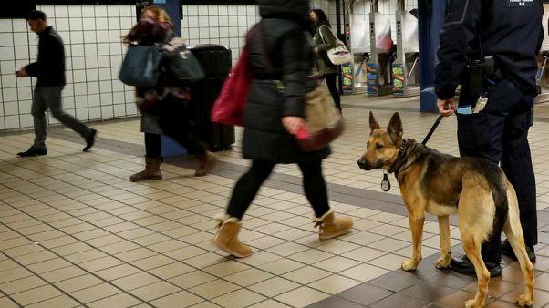 شرطة نيويورك تتدرب على إحباط أي تفجير انتحاري محتمل ليلة رأس السنة