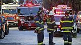 12 morts dans le pire incendie à New York depuis des décennies